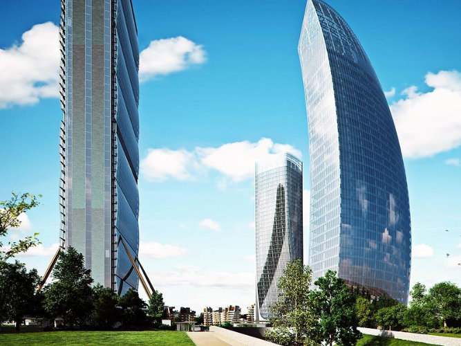 Atechbcn bmu manufacturer - Libeskind Tower Milan 01