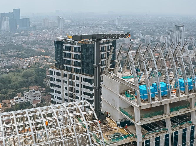 BRI Tower Jakarta Atechbcn BMU manufacturer 0002